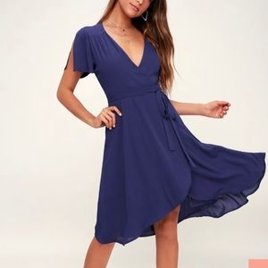 """""""Rise to the Occasion"""" midi-length dress"""